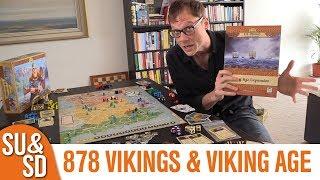 878 Vikings & Viking Age Expansion - Shut Up & Sit Down Review