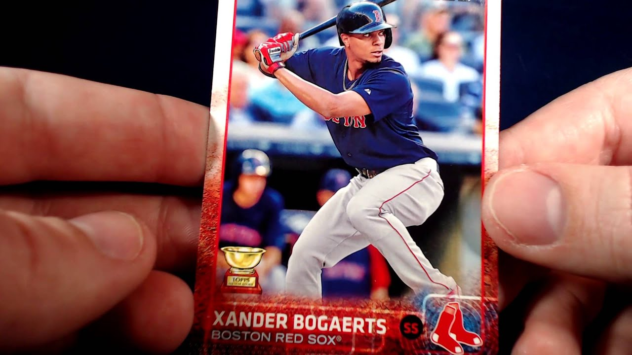2015 Topps Series One Baseball Card Product Review Youtube
