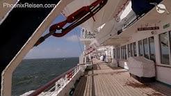 MS ALBATROS: Das familiäre Schiff mit großer Fangemeinde von Phoenix Reisen I Phoenix Reisen TV 2/19