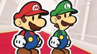 Super Mario Odyssey - Paper Mario & Paper Luigi Final Boss + Ending
