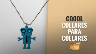 Top 10 Ventas Coool 2018: Nerd Alert Robot Necklace - Blue