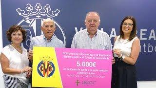 El Villarreal colabora en la lucha contra el cáncer de mama