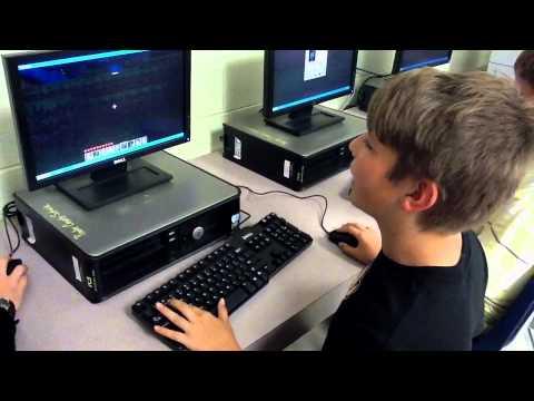 Minecraft In School - Student Work - YouTube