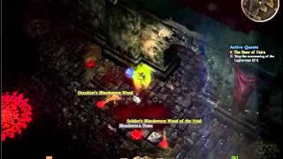[Grim Dawn] Monster attacks me through a wall