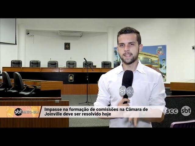 Impasse na formação de comissão na Câmara de Joinville deve ser resolvido hoje