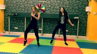 C. Tangana & Becky G. - Booty - Zumba Fitness Choreography