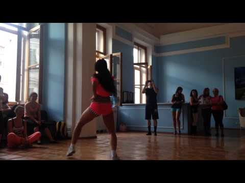 Dana Daniela Brazilian Funk Carioca Brazilian Dance Congress 2014