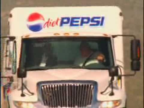 Diet Pepsi Truck Commercial