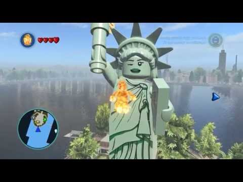 LEGO MARVEL Super Heroes the statue of liberty winks