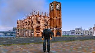 Gta London In 3d  Gta London Map In Gta 3