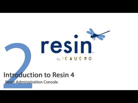 Introduction to Caucho Resin - Part 2 - Administration Console