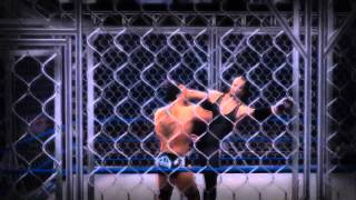 WWE 2K14 undertaker vs Batista cyber Sunday 2007