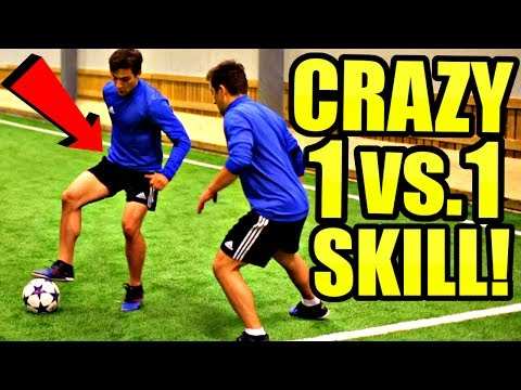 Learn This CRAZY Effective FootballSoccer Skill Tutorial!  Best 1 vs 1 Moves RonaldoNeymar