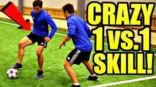 Learn This CRAZY Effective Football/Soccer Skill Tutorial! - (Best 1 vs 1 Moves) Ronaldo/Neymar