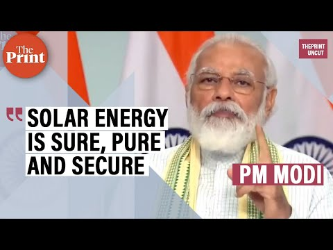 India most attractive global market for clean energy: PM Modi launches Asia's largest solar plant