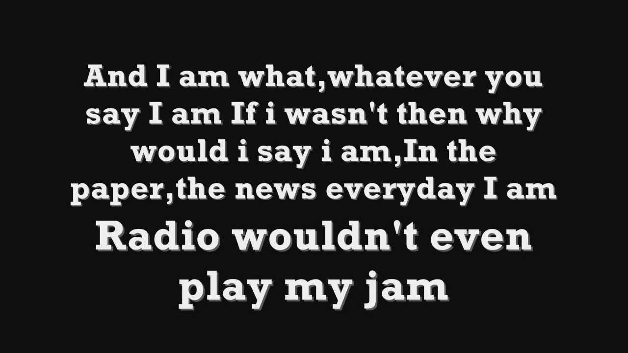 Eminem   Curtain Call   The Way I Am Lyrics # 3