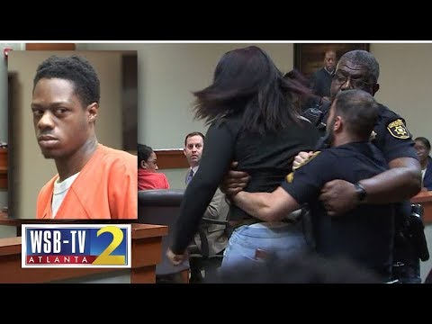 Murder Victim's Teen Daughter Lunges At Accused Killer Removed From Courtroom