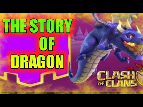 Story of dragon||in hindi||clash of clans