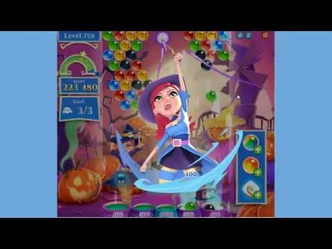Bubble Witch 2 Saga Level 759 no boosters