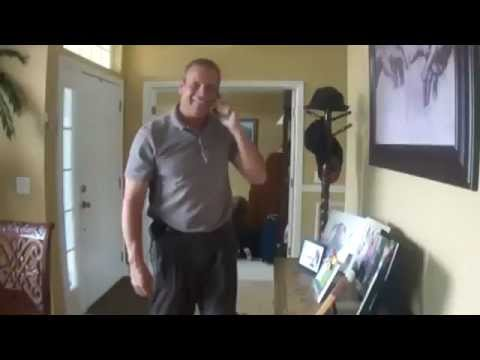U S  Soldier, Home From Kuwait, Surprises His Father in Law