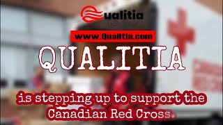 Qualitia Supporting Canadian Red Cross