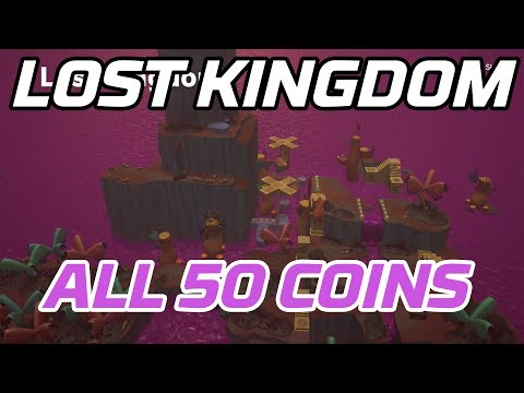 [Super Mario Odyssey] All Lost Kingdom Coins (50 Purple Local Coins)