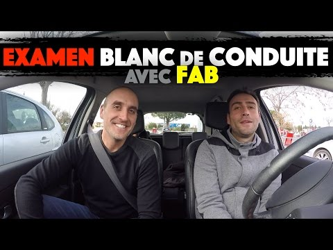 EXAMEN BLANC DE CONDUITE AVEC FAB
