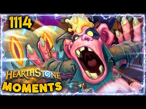 THE FIRST EVER DOUBLE LETHAL  Hearthstone Daily Moments Ep1114