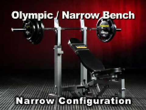 Powertec Olympic Narrow Bench Su Bodybuilding It Youtube
