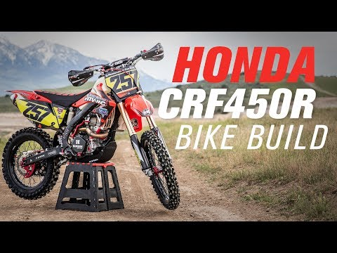 Honda CRF450R Bike Off-Road Build