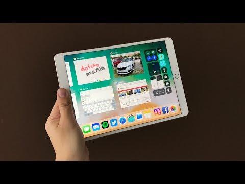 iOS 11 na tabletech iPad - první pohled