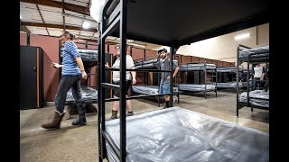 Get an inside look at the new low-barrier homeless shelter in Modesto