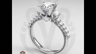 Engagement Rings by Verragio: Classic-940P