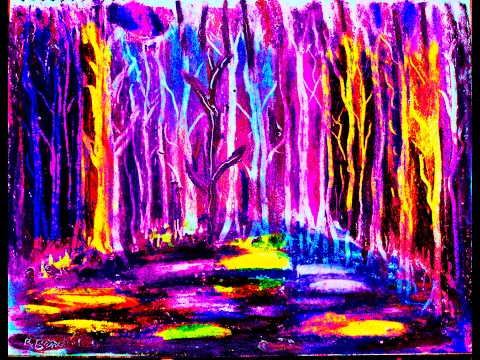 Books Titles New Impressionist Brilliant Oil Pastels Paintings Landscapes Figurative by Rami Benatar