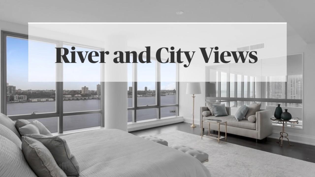 nyc luxury apartments. 50 Riverside Boulevard  NYC Luxury Apartment YouTube