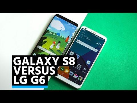 Comparación: Samsung Galaxy S8 vs LG G6
