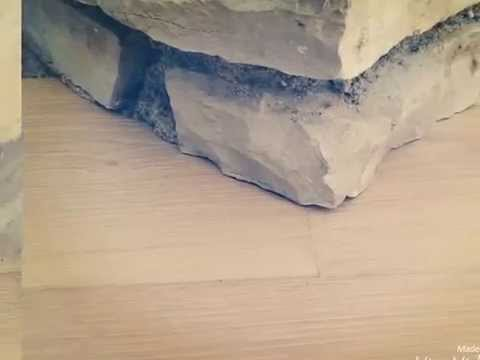 How To Scribe Wood To Stone