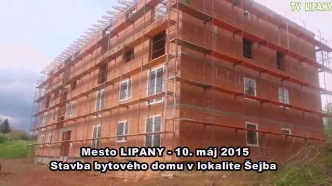 Výstavba vícepodlažního obytného domu