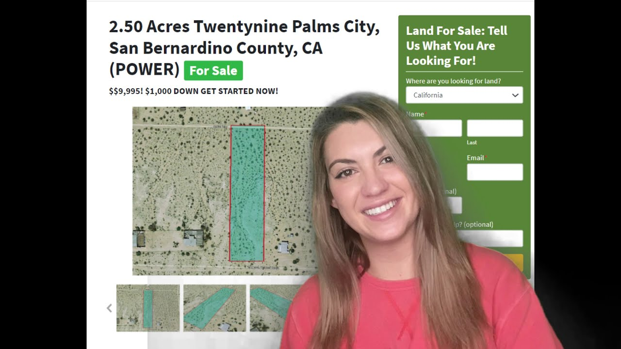 2.50 Acres Twentynine Palms City Property (WITH POWER) in  San Bernardino County