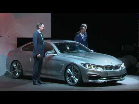BMW 4 Series Coupe Concept Debut at BMW Design Night