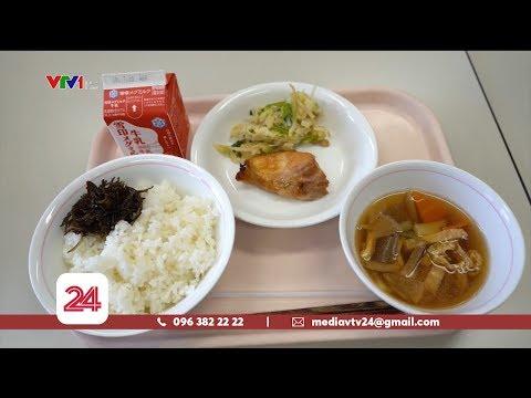 Tiêu Điểm: Dinh dưỡng và ý thức của trẻ - Bài học từ Nhật Bản | VTV24