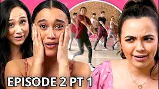 Dance Battle: Girls vs. Guys | Twin My Heart w/ The Merrell Twins Season 2 EP 2 Pt 1
