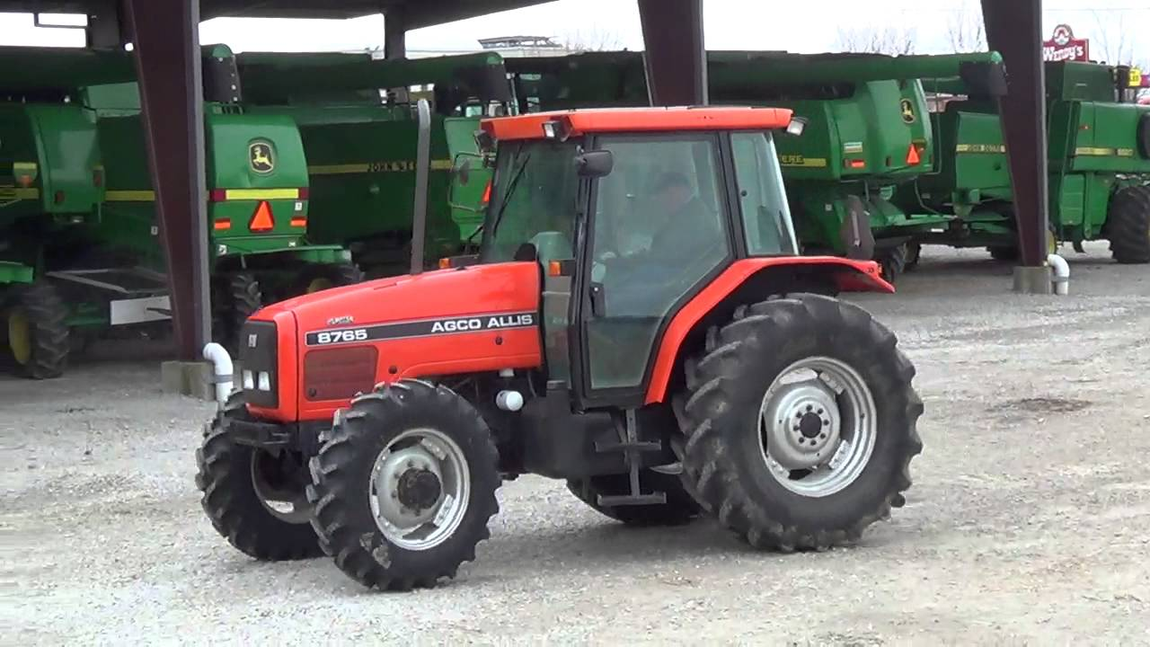 Agco Allis Tractors : Agco allis tractor for sale youtube