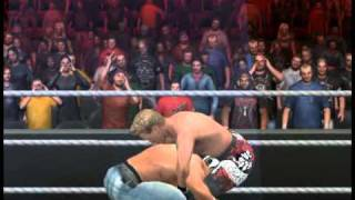 WWE SmackDown vs. RAW 2011 Y2J Chris Jericho beats up john cena