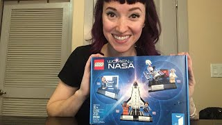 LEGO Women of NASA Unboxing and Build! [Archived]