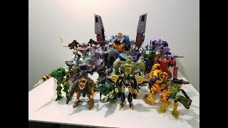 A discussion video detailing the Beast Wars Transformers series and...