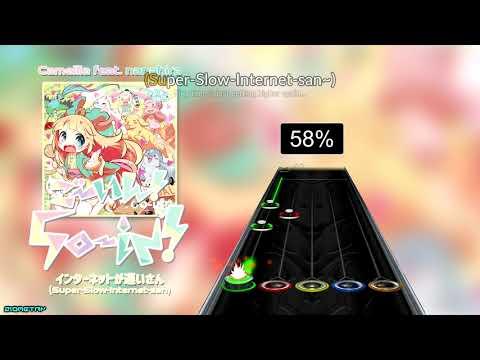Clone Hero:  Camellia Ft. Nanahira - Internet Ga Osoi-san (Super-Slow-Internet-san) (Chart Preview)