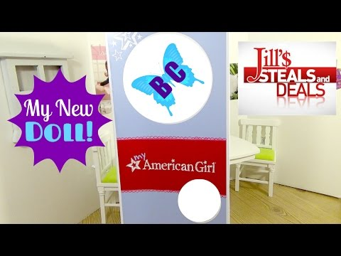 A NEW DOLL | American Girl Jill's Steals And Deals Discount | TODAY Show Savings | Buterflycandy