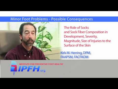 Minor Foot Injuries - Possible Consequences