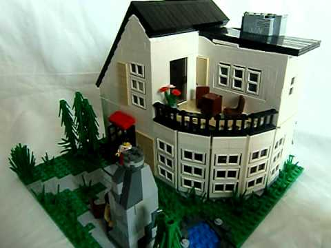 Lego -Modern Villa- review - YouTube
